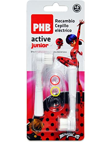 PHB Active Junior Recambio Cepillo de Dientes Eléctrico Infantil con  Filamentos de Tynex 18335e55c4f9