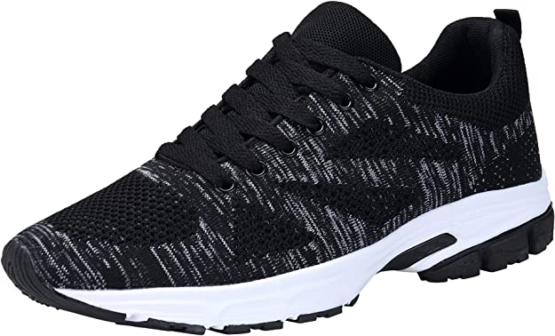 KOUDYEN Unisex Zapatillas Deporte Hombres Mujer Zapatillas Running ...