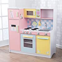 Deals on KidKraft Large Pastel Kitchen Playset 53181