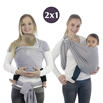 Baby Wrap Carrier and Ring Sling In One – Baby Slings and Wrap -  Comfortable Ring