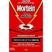 Mortein Kill & Protect Plus Nest Kill Cockroach Bait (Count of 12)