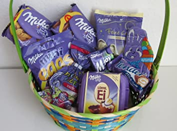 Amazon european milka chocolate easter gift basket milka european milka chocolate easter gift basket milka eggsmilka m joy milka negle Gallery