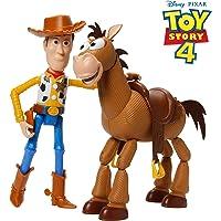Mattel- Disney Toy Story 4-Pack de Aventuras de Woody y Perdigón, Juguetes niños +3 años GDB91, Multicolor