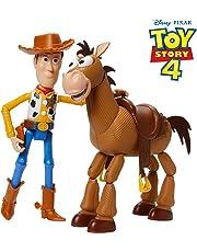 Disney Pixar Toy Story 4 Woody & Bullseye Adventure Pack