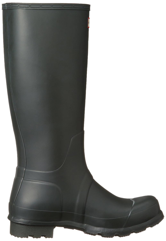 Hunter Men's Original Tall Knee-High Rubber Rain Boot B00JLEG14U 13 D(M) US|Dark Olive