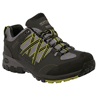 Great Outdoors Mens Samaris Low Waterproof Hiking Shoes