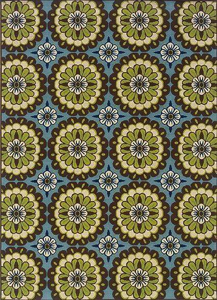 Oriental Weavers 8328L Caspian Outdoor/Indoor Area Rug