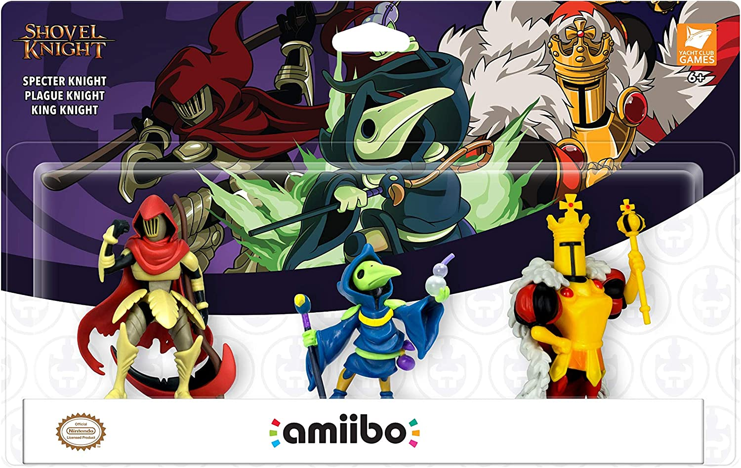 Yacht Club Games - Shovel Knight, Pack De 3 Figuras Amiibo: Amazon.es: Videojuegos