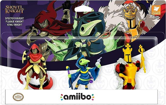 Yacht Club Games - Shovel Knight, Pack De 3 Figuras Amiibo: Amazon.es: Videojuegos