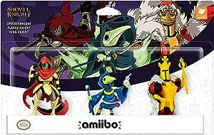Yacht Club Games - Shovel Knight, Pack De 3 Figuras Amiibo: Amazon ...