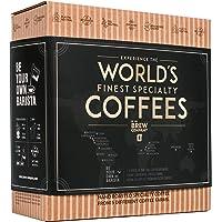 Caja Regalo de Cafe Especialidad apta Para Hombre y Mujer - Paquete de Degustación Gourmet con 5 de Los Mejores Cafés…