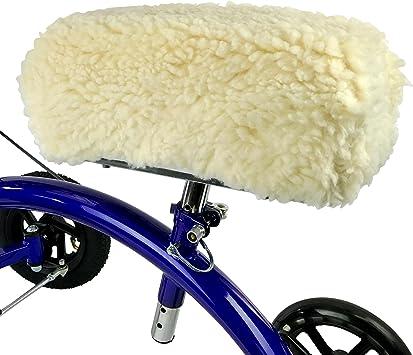 Amazon.com: kneerover sheepette Deluxe – Andador de rodilla ...
