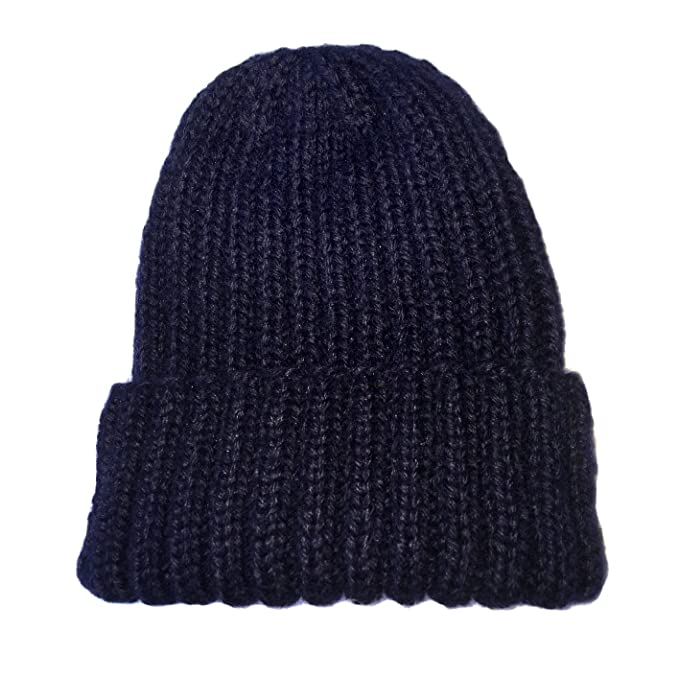 58f81e07428 Strathtay 100% Blue Faced Leicester Wool Cap (Navy) at Amazon Men s ...