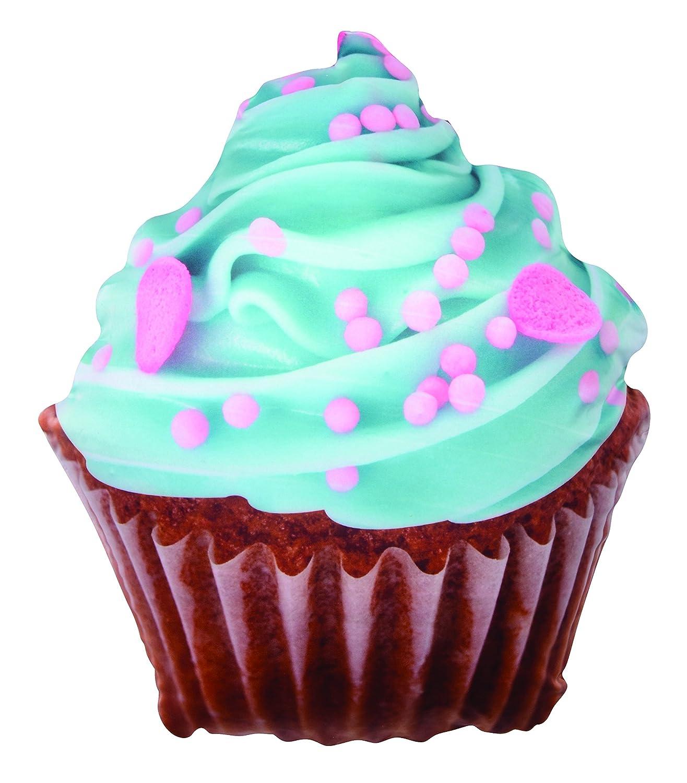 Squish N Sniff - Cupcake con glaseado azul aroma cojín ...