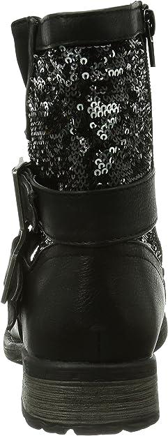 Rieker 97263 Damen Halbschaft Stiefel: : Schuhe VYI4U