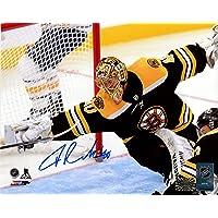 $89 » Tuukka Rask Boston Bruins Signed Autographed Incredible Diving Save 8x10