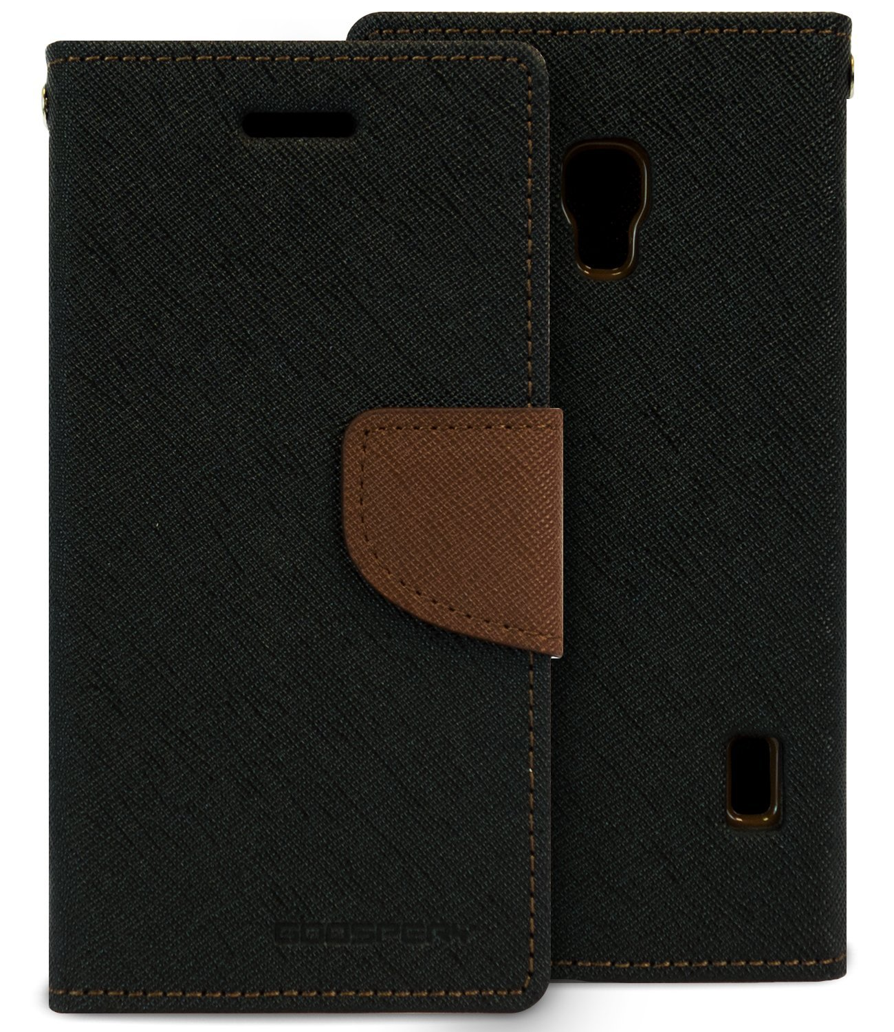 Lg Optimus F6 Case Drop Protection Goospery Fancy Iphone 8 Diary Navy Lime Wallet Pu Saffiano Leather Id Card Slots Cash Slot Stand Flip Cover