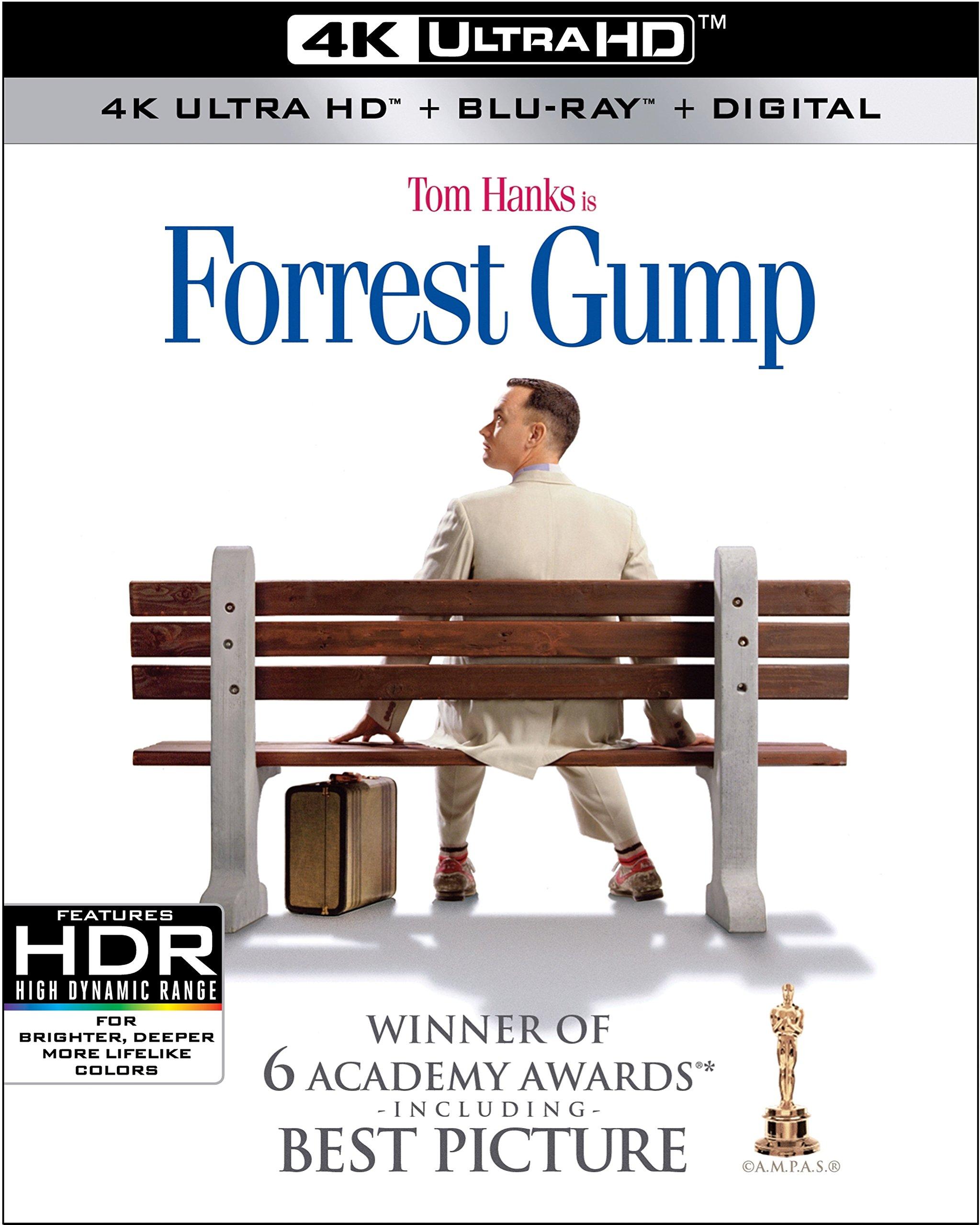 4K Blu-ray : Forrest Gump (With Blu-Ray, 4K Mastering, Digital Copy, Dolby, AC-3)