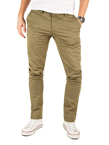 Fit Chino Eleganti Slim Kyle Uomo Yazubi Pantaloni Chinos Amazon qXXY0