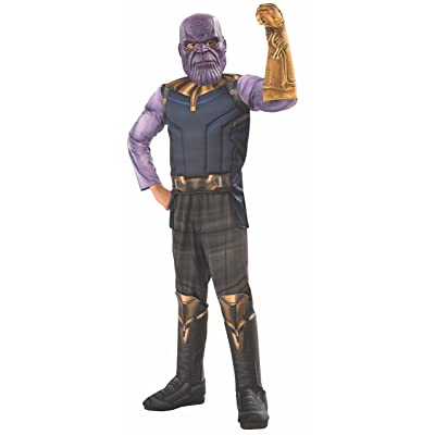 Rubie's Marvel Avengers: Infinity War Deluxe Thanos Child's Costume, Small: Toys & Games