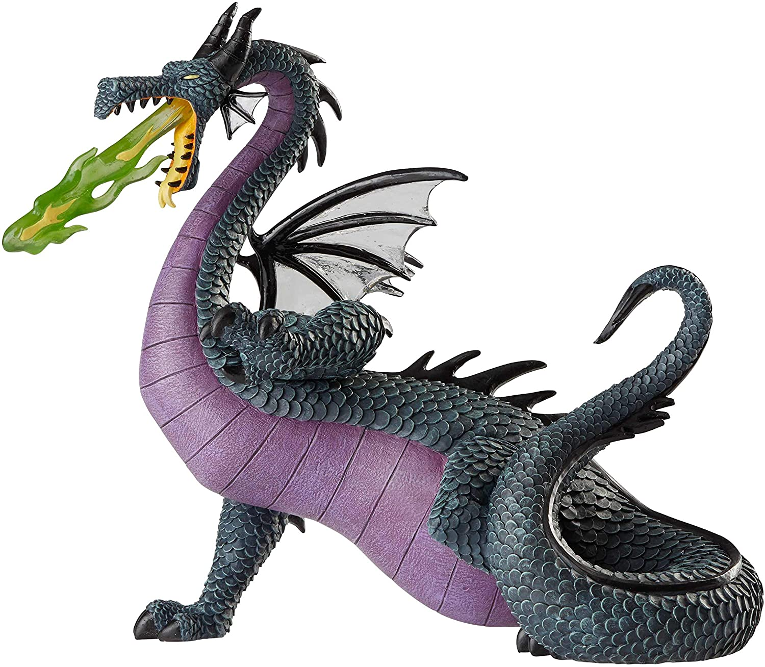 Enesco Disney Showcase Collection Sleeping Beauty Maleficent Dragon Figurine, 7.95 Inch, Multicolor