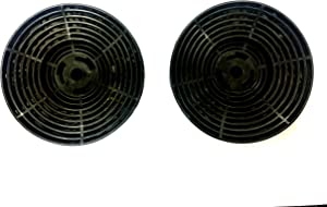 Winflo Carbon/Charcoal Filters (set of 2) for Ductless/Ventless Option Easy Installation and Replacement for Winflo C Series Wall Mount Range Hoods