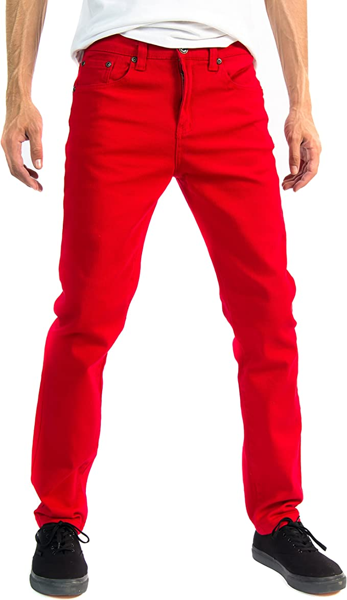 Alta Designer Fashion Mens Slim Fit Skinny Denim Jeans - Multiple Colors & Sizes at Amazon Men's Clothing store