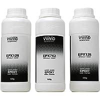 VViViD Binary Epoxy Resin Optically Clear Hard Coating 1500 Gram Combo Pack