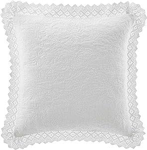 Laura Ashley Home Classics White Euro Sham Cover (USHSGZ1148296)