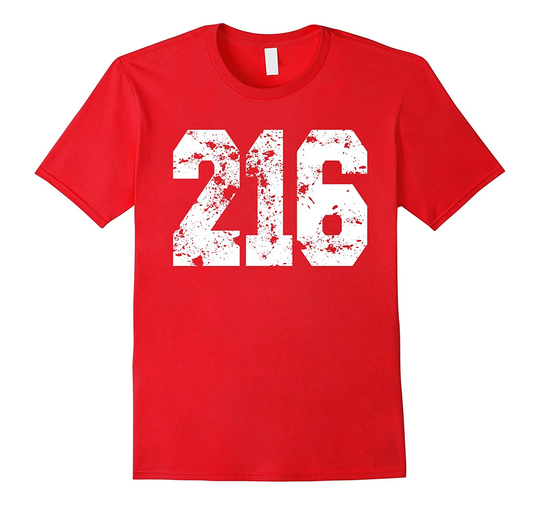 Vintage Cleveland Area Code 216 Tshirt-BN