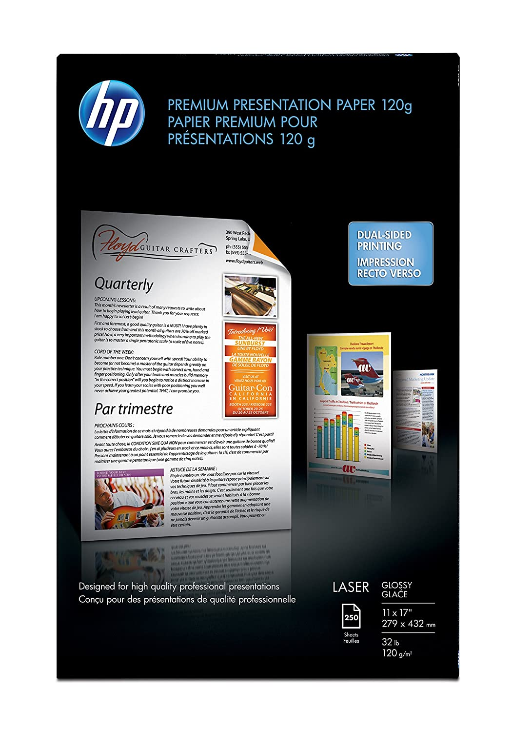 Hp hp color laser printers 11x17 - Amazon Com Hp Color Laser Presentation Paper Glossy 250 Sheets 11 X 17 Inches Photo Quality Paper Office Products