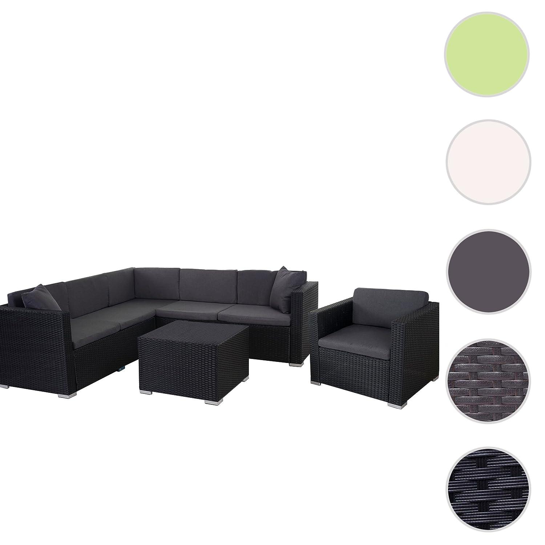 Rattan Lounge Set Anthrazit. Awesome Rom Basic Sofa Sessel Loungeset ...