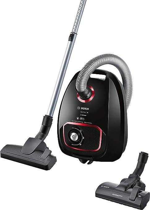 Bosch Electroménager Serie 4 ProPower BGBS4POW1, Aspirador de Trineo, Negro, 850 W, 4 Camas, 76 decibelios: Amazon.es: Hogar