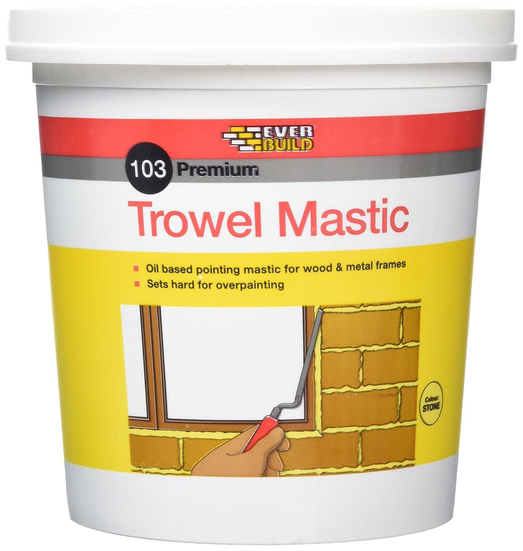 Everbuild TROWST Stone Trowel Mastic 3kg