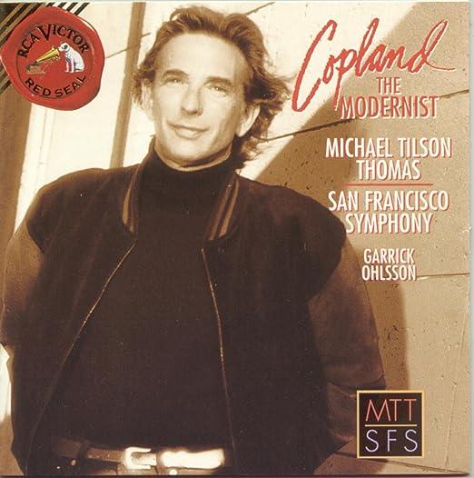Copland: the Modernist: Tilson-Thomas,Michael: Amazon.it: Musica