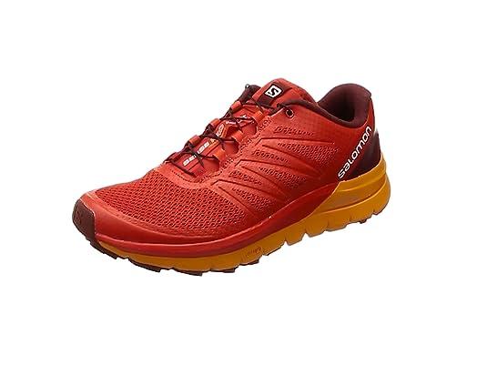 Salomon Sense Pro MAX, Zapatillas de Trail Running para Hombre, Rojo (Fiery Red