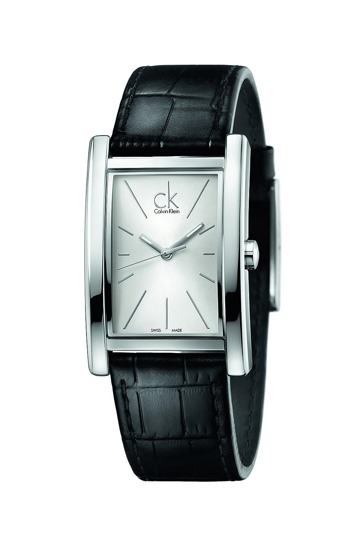 Calvin Klein Reloj analógico para Hombre de Cuarzo con Correa en Piel K4P211C6: Amazon.es: Relojes
