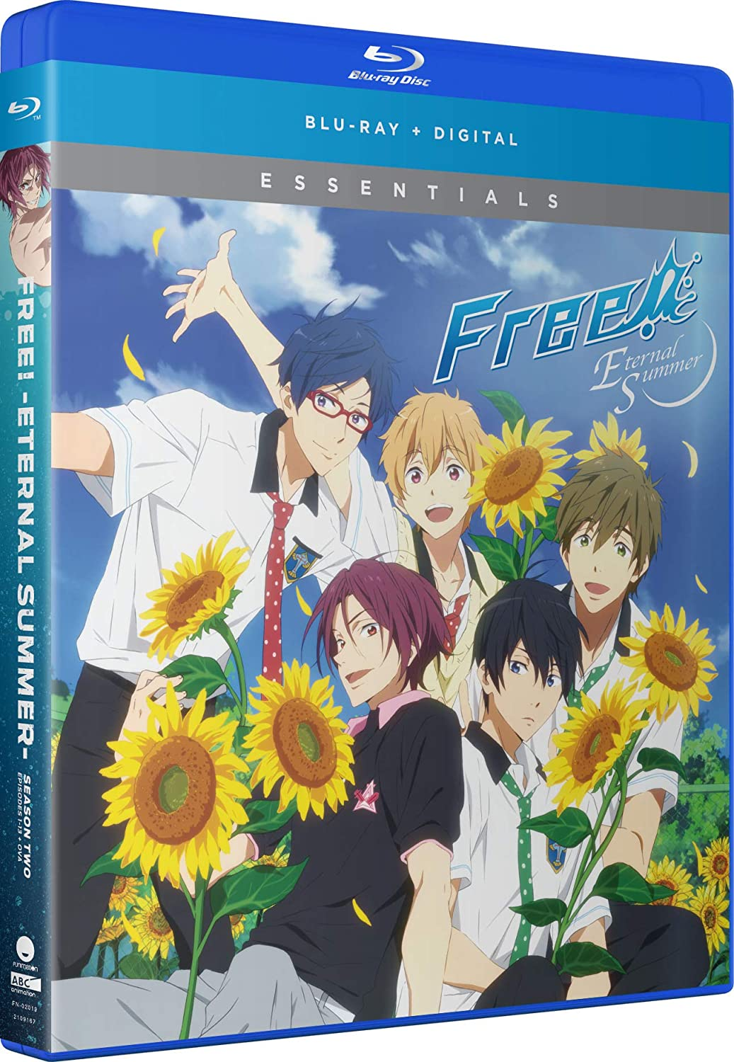 Free! Eternal Summer Season 2 Essentials Blu-ray (Dual Audio)