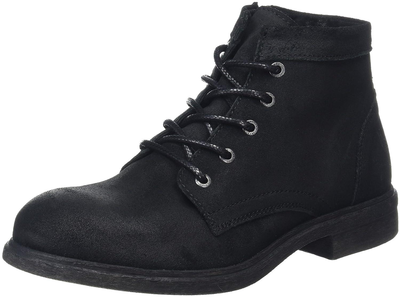 Selected Herren Shntrevor Boot Noos Bootsschuhe  44 EU|Schwarz (Black)