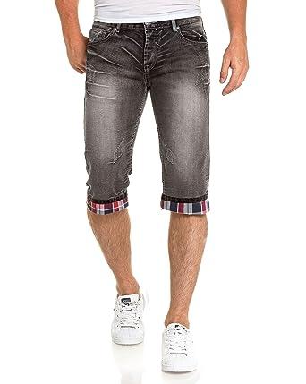 CouleurTaille Délavé Blz Homme Jeans Gris Bermuda Jean oCxWrdBe