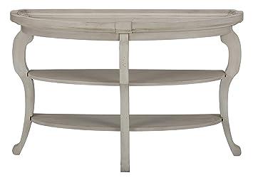 Amazon.com: jofran Sebastian demilune sofá mesa en Antiguo ...