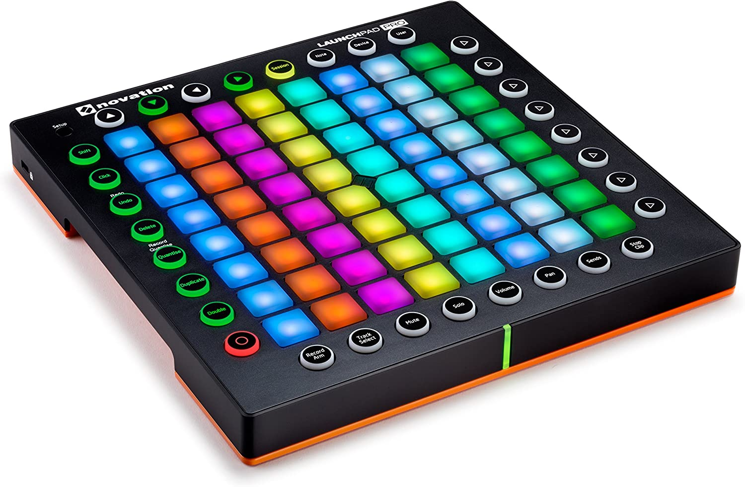 front facing Novation Launchpad Pro
