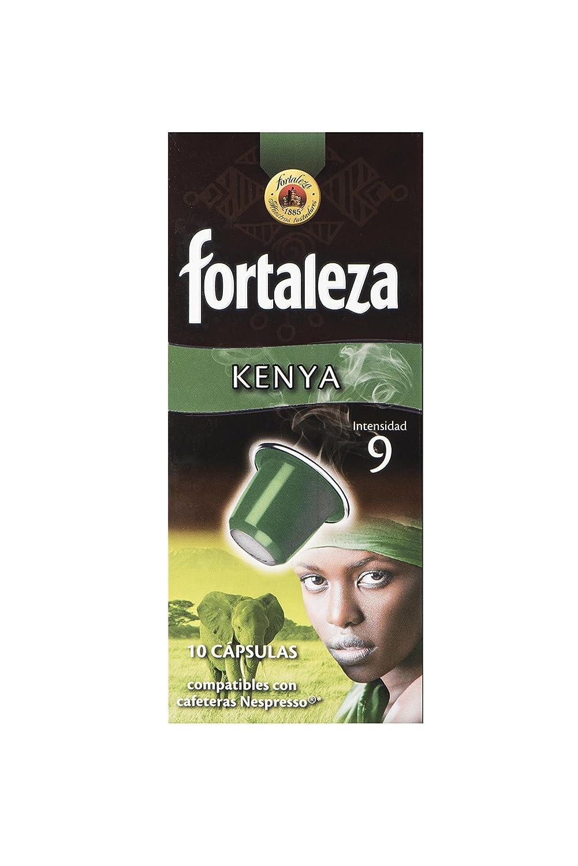 Café Fortaleza Nespresso Kenya - 10 Cápsulas: Amazon.es ...