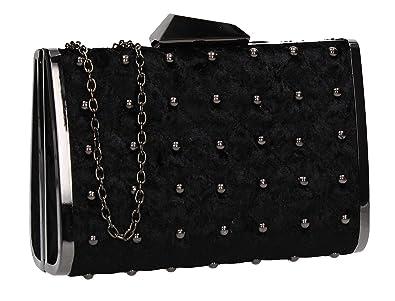 0589677093 SWANKYSWANS Nyla Stud Detail Clutch Bag Black  Amazon.co.uk  Shoes ...