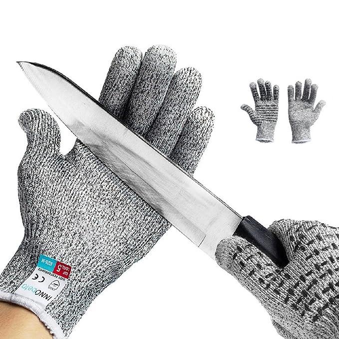 85 opinioni per Guanti Antitaglio,InnoBeta guanti di sicurezza da lavoro, guanti antiscivolo
