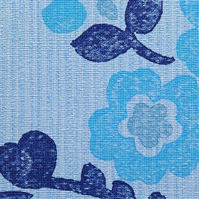 Patterned Vinyl Esperanza Design Designers Guild Blue Wallpaper Roll P440-04