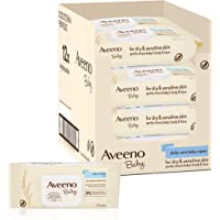 Aveeno Baby Daily Care Wipes, Pack of 12 (864 Wipes In Total)