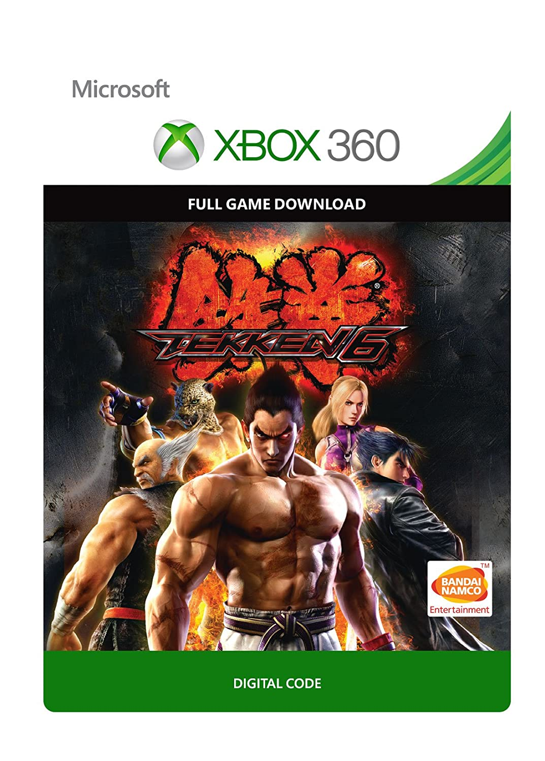 Amazon Com Tekken 6 Xbox 360 Digital Code Video Games