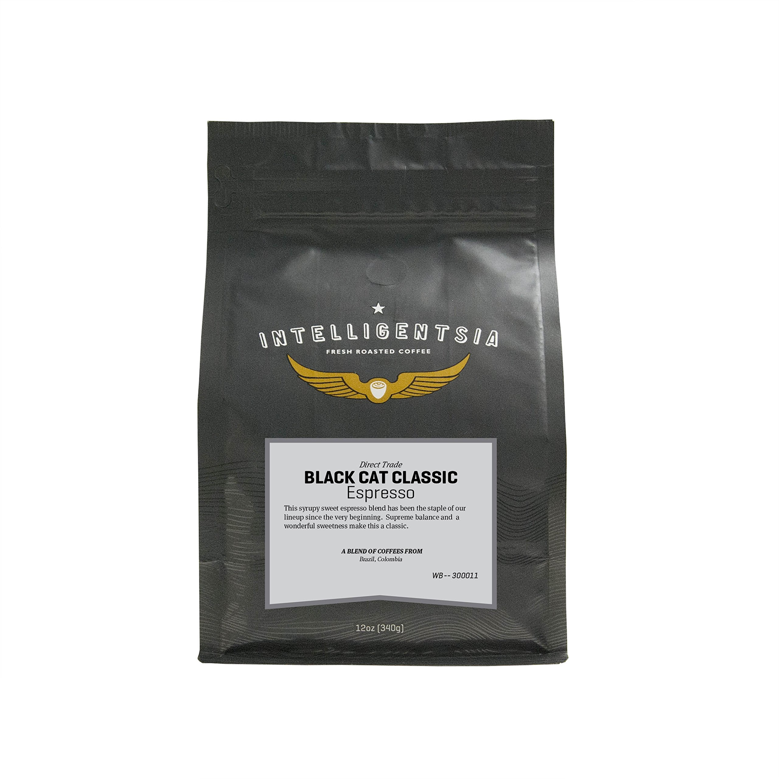 Amazon.com : Intelligentsia Black Cat Classic Espresso, Whole Bean ...