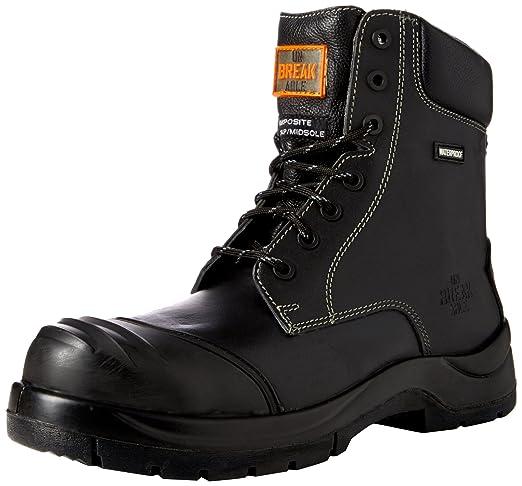 Unbreakable 8105 - Botas de seguridad de Cuero hombre, color Negro, talla 42.5: Amazon.es: Industria, empresas y ciencia
